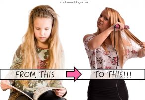 Puberty - Change from child to teenager comparison and its affect ...