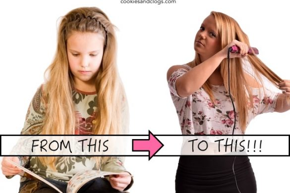 Adolescence / Puberty - Change from child to teenager comparison and its affect on parents.