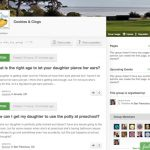 Kinsights - Online community for parents local and distant