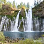 Burney Falls at the McArthur-Burney Falls Memorial State Park in California #Travel #Photography