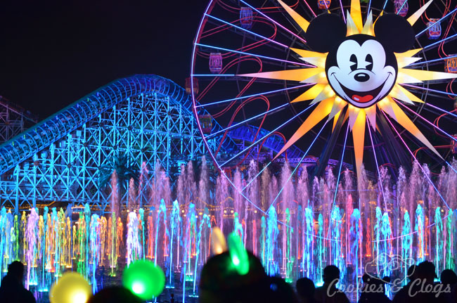 Inspiring World Of Color At Disney California Adventure Travel - Disney adventure