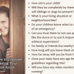 10 Factors to Consider When Leaving Your Child Home Alone