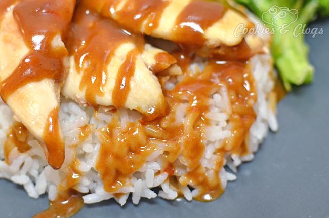 Easy Gluten-Free Thai Peanut Sauce and Chicken Satay Recipe #Recipes #GF