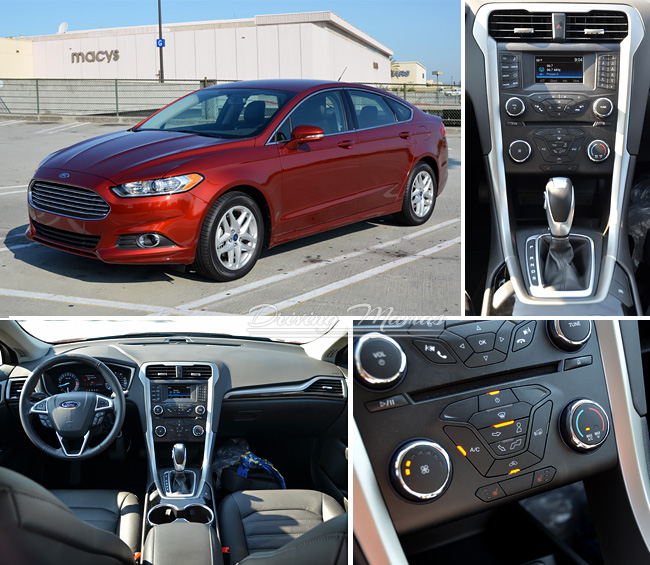 2014 Ford Fusion gas mileage, features, and performance review #cars #ford