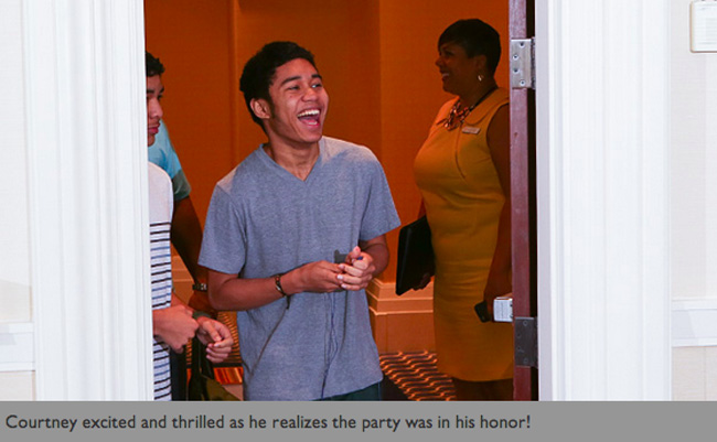 Marriott Rewards Year of Surprises Winner – Graduation Party #MC #MR30 #spon