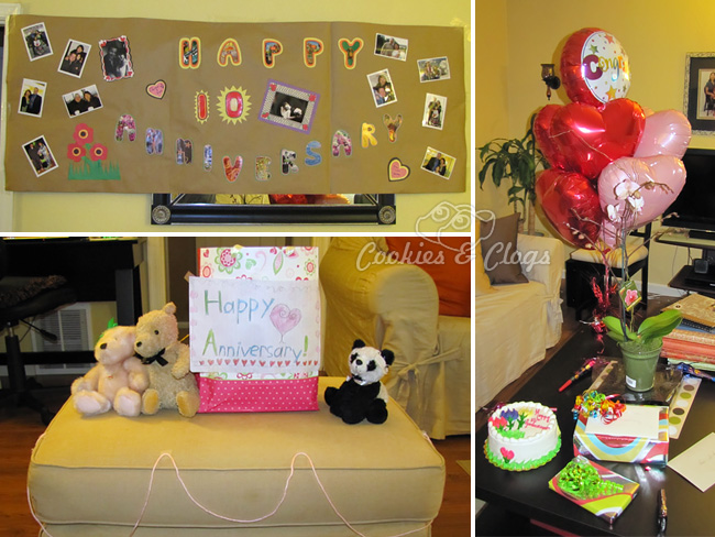 Surprise anniversary example for Marriott Rewards Year of Surprises Winner #MC #MR30 #spon
