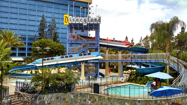 Hotels By Disneyland Hotel In Anaheim Ca Review Monorail Water Slide And