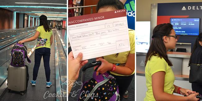 Unaccompanied Minors Program for Children Flying Alone