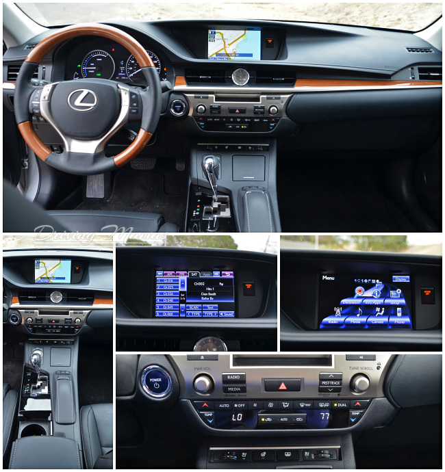 2014 Lexus Es 300h: Easy On The Eyes And The Fuel Tank