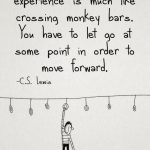 Cute happiness quote about painful experiences and monkey bars #quotes