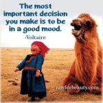 Sweet Quote About Happiness: Decide to be in a good mood #quotes #humor