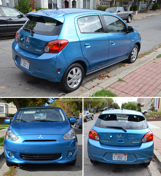 1999 Mitsubishi Mirage Exterior: 2015 Mitsubishi Mirage Review