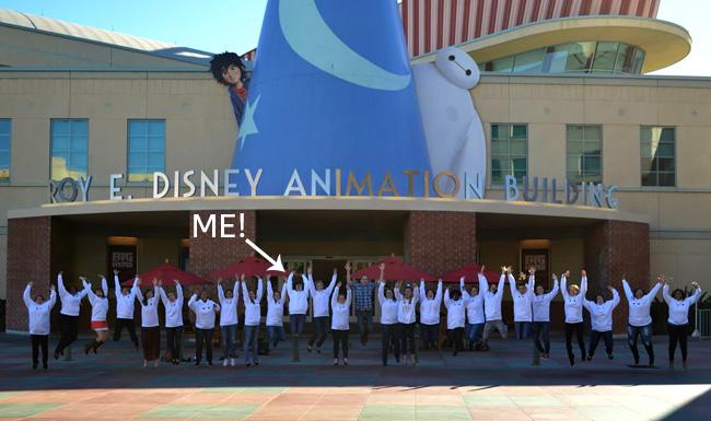 Big Hero 6 Press Day at the Disney Animation Building #BigHero6Event