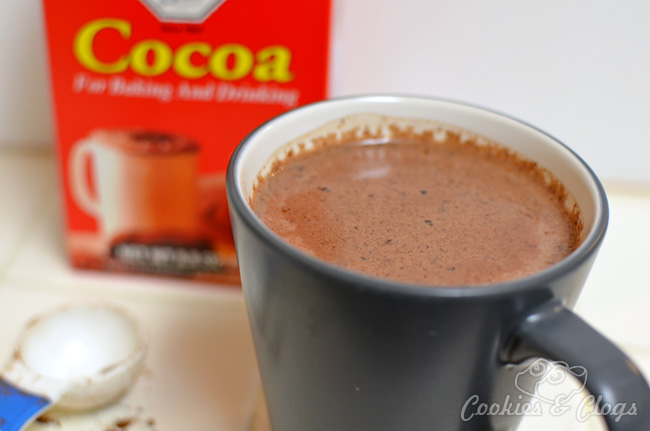 Authentic Dutch Cocoa hot chocolate recipe