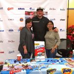 Joe Staley of the 49ers at Lucky Supermarket in San Bruno, CA for P&G