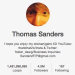 Thomas Sanders – Narrates people's lives in Story Time video compilation from Vine