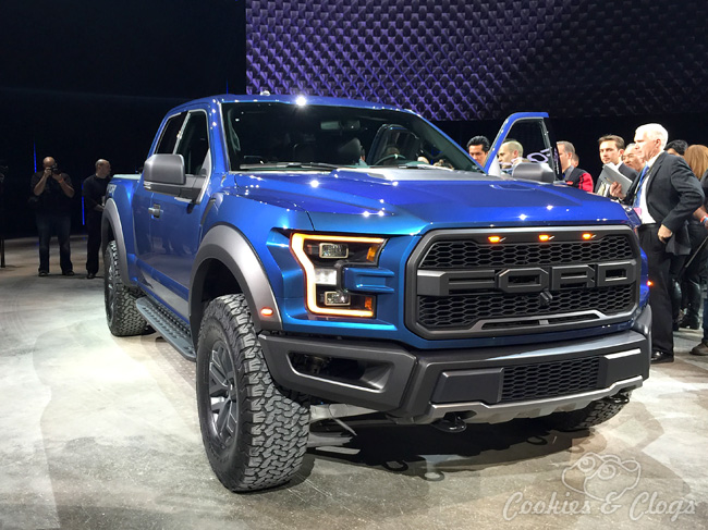 Ford F 150 Raptor Shelby Gt350r Gt At 2017 Naias