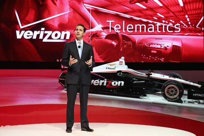 Verizon Vehicle announcement at North American International Auto Show