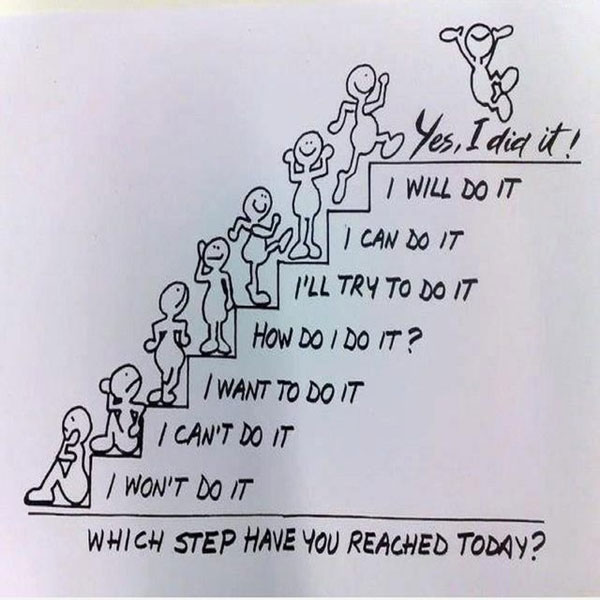 Positive Quotes About Life Which Step Will You Reach