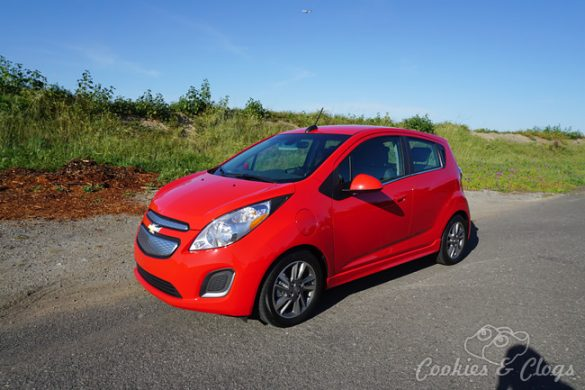 Cars | Car Reviews | The 2015 Chevrolet Spark is a cute electric vehicle that handles well and seats four. Perfect for small families and commute. Details on mileage and charging included.
