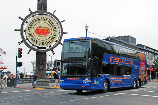 Travel | Transportation | Megabus.com has installed new GreedRoad technology, making their fleet of 2,400 buses even more safe, efficient, and environment-friendly. See why this might be the best option for your next family vacation travel instead of the traditional road trip ideas.