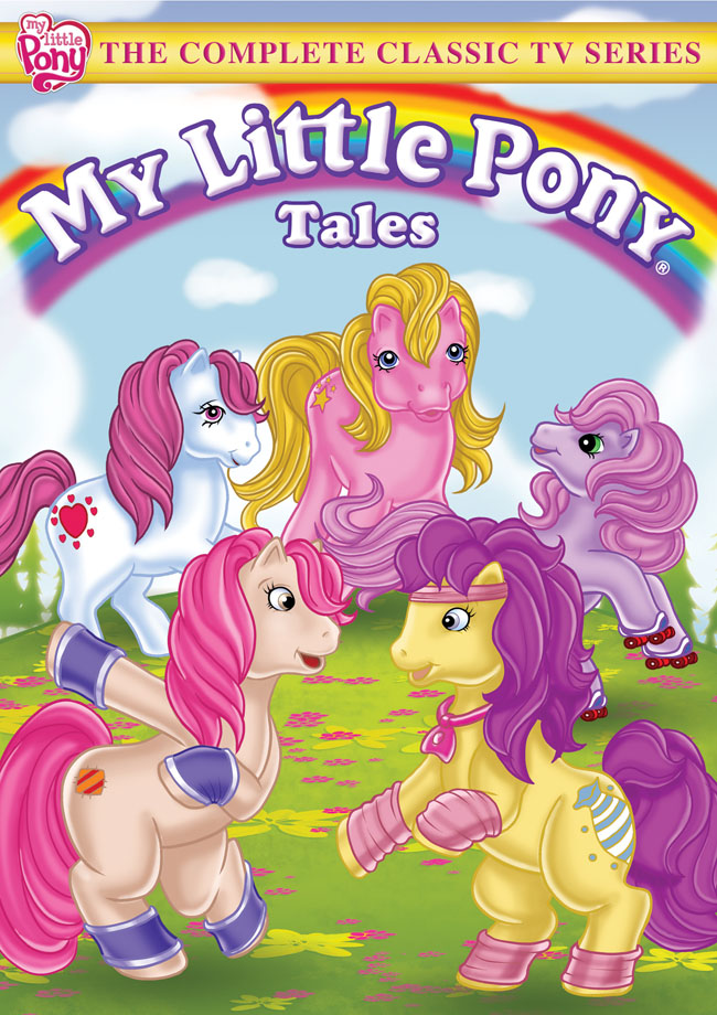 Blast To The Past W My Little Pony Tales Classic Tv 2 Dvd Set
