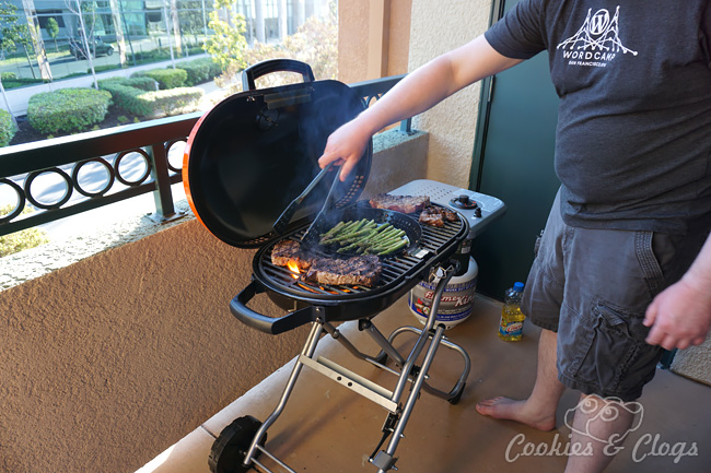 STOK Gridiron Grill Ideal for Tailgating, Road Trips, Balconies