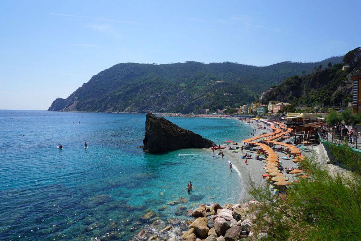 Travel | Travel with Kids | Italy | Travel tips and transportation ideas for visiting Cinque Terre / Cinqueterre in the Tuscany area of Italy. Monterosso al Mare