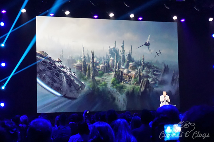 Amusement Parks | New 2015 announcements about Star Wars land and attractions at Disneyland and Walt Disney World. See info here on Toy Story Land, new Soarin' Around the World, Avatar, and the Iron Man Experience with an appearance from Stan Lee.
