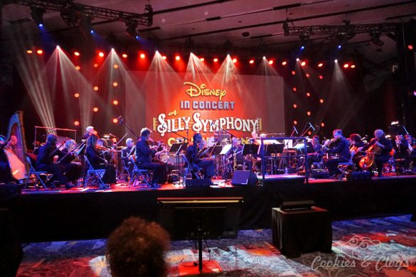 Music | Live orchestra concert / performance of the Silly Symphony shorts at D23 Expo 2015 in honor of the box set collection coming.