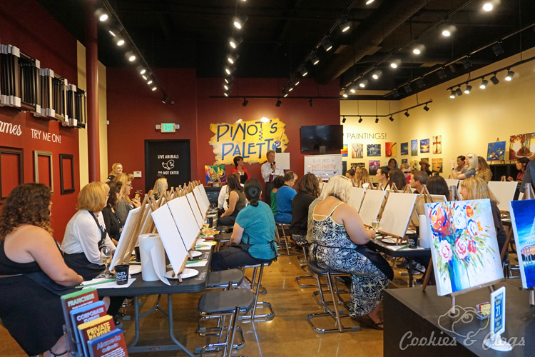 San Francisco | California | Events | The new Pinot's Palette paint and wine studio is now open in Alameda, CA at South Shore Center. See what the experience is like here.