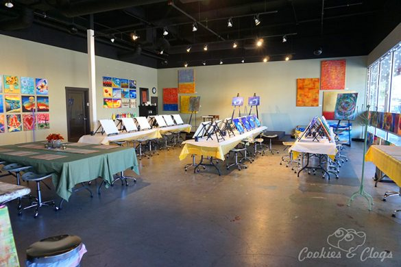 San Francisco Bay Area | Create, Mix & Mingle is a paint and wine / paint and sip studio in San Mateo California. There is also a separate space for painting and mixed media classes and private events for kids and families.