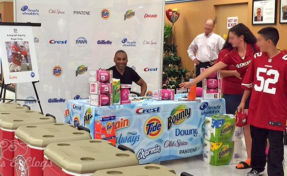 Sports | San Francisco Bay Area 49ers fans were able to meet Roger Craig thanks to Lucky supermarkets and P&G. See what the full promotion was and how you can take part.