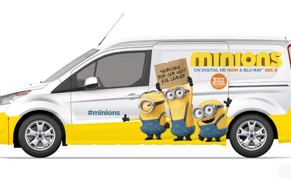 Meet the Minions and the Minionwagon during the Ford Championship Weekend at the Homestead-Miami Speedway in Florida. Afterwards, they'll stop at Universal Orlando Resort, Atlanta, Philadelphia, and New York City.