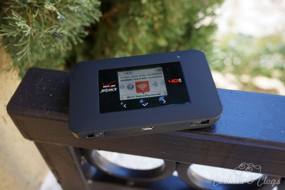 Technology | For families, in the car, or for business, the Verizon Jetpack 4G LTE Mobile Hotspot—AC791L by NETGEAR can keep up to 15 devices connected via mobile WiFi for browsing, cloud, and streaming needs.