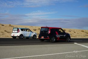 Cars   Automotive   See the new Kia autonomous vehicle with their own customized Kia Soul EV cars. See how our test ride went at the California Proving Ground track and find out more about the technology.