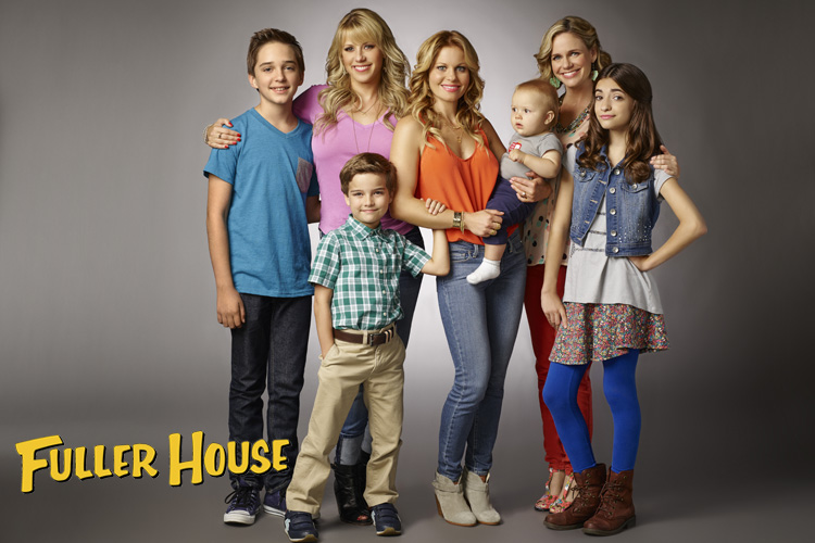 Television | Entertainment | Fuller House Is Now On Netflix Streaming. The  Family From Full