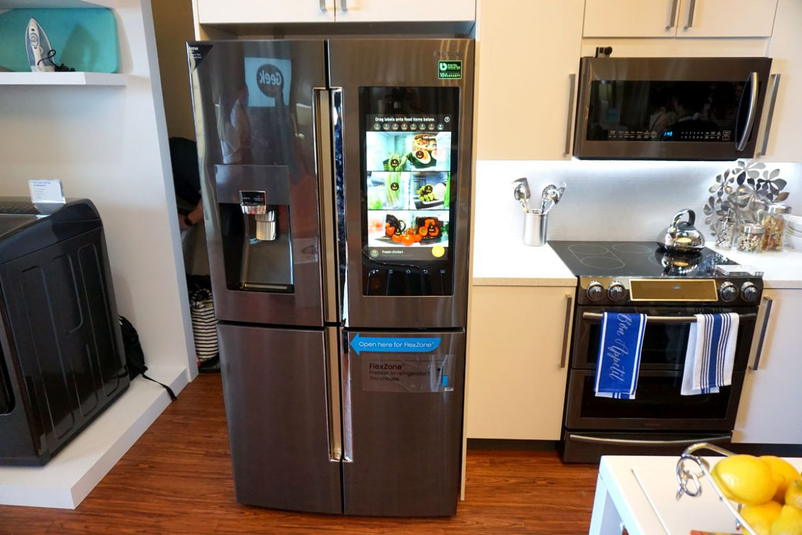 Envying the samsung appliances sold at best buy for New technology in the home