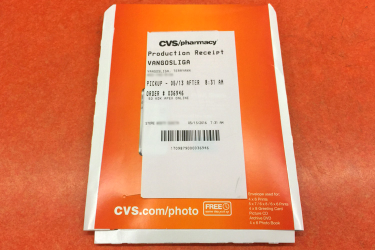 Print photos at CVS Pharmacy ® Order photo prints online with Photo Prints Now and pick up the same day at your local CVS Pharmacy. Get Started. In partnership with. Upload Your Photos. Uploading Photos. Drag and drop your photos here or. Import Photos.