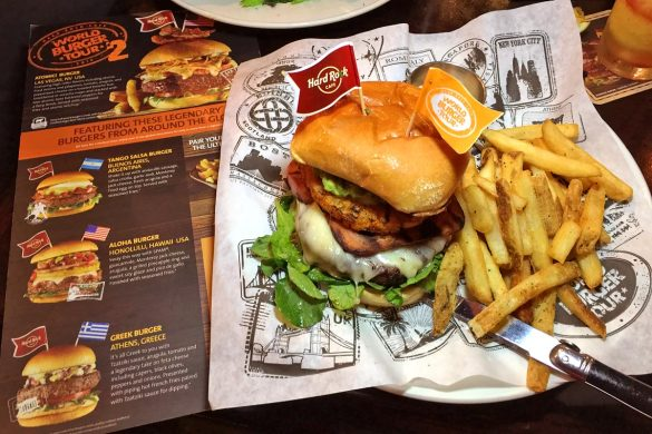 Hard Rock Cafe World Burger Tour 2