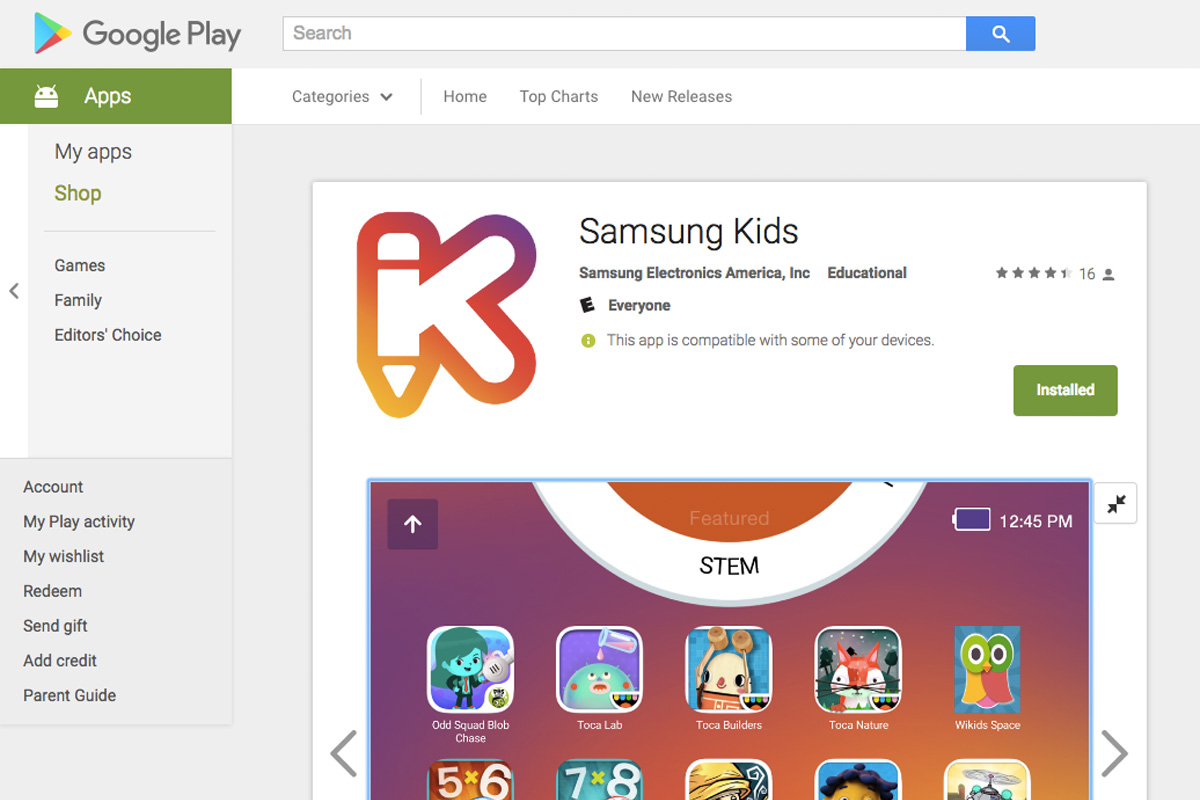 Samsung Kids App Now Available for Use on Other Samsung Devices