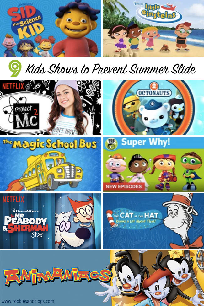 Cookies & Clogs | Entertainment | Television | Trying to figure out what to do with the kids this summer to prevent summer slide? Try watching these nine kids shows to enjoy and learn.