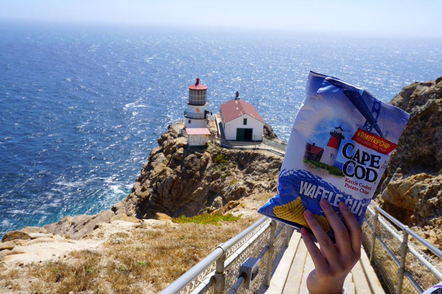 Cookies & Clogs | Want to take a family road trip to Point Reyes National Seashore in Point Reyes, CA? Here are several things to do with the kids including the Point Reyes Lighthouse. See what the climb down is like and if it's worth the trek. Cape Cod Chips #RoadTripChip