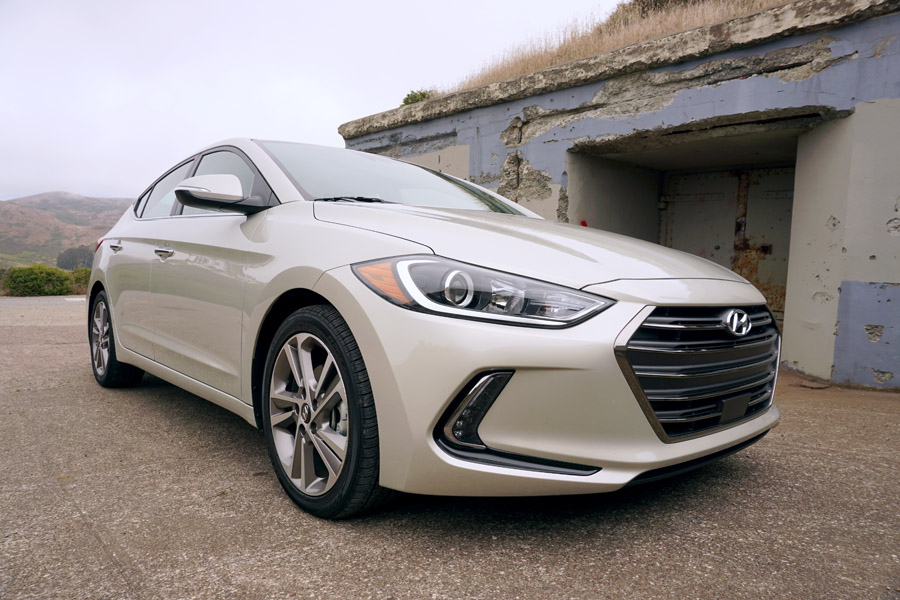 Cookies & Clogs | Cars | In this 2017 Hyundai Elantra review, you'll read about the pros and cons of the compact sedan's all-new design. See who this car is best for and why.
