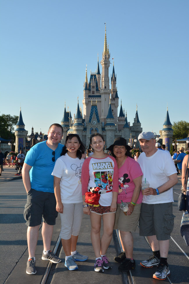 Cookies & Clogs | Travel | If you plan on visiting Walt Disney World, Disney PhotoPass and Memory Maker can make your family vacation even more special. Check out these reasons you'll want to take full advantage of it! Castle at Magic Kingdom