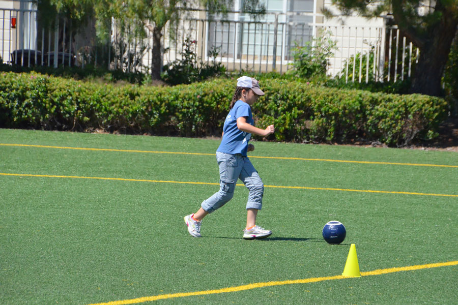 Health | Parenting | Summer is drawing to a close so it's time to get out there and have some fun with the kids while you still can. See how our family will be using these four safety and injury prevention tips from Stanford Children's Health obstetrics and pediatric healthcare network. Soccer on astroturf.