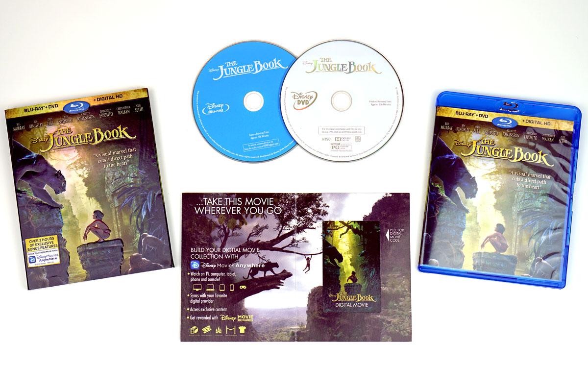 1fec640b856 Live-Action The Jungle Book Movie + Blu-Ray w  Loads of Bonus Content