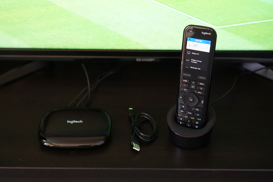 Cookies & Clogs | Technology | The Logitech Harmony Elite is a universal remote that controls more than just the TV. You can also program sequences of commands for smart devices, connected devices, and anything else that uses a Bluetooth or infrared signal. See our review here!