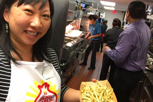 Cookies & Clogs | Food | Find out how the new Gilroy Garlic Fries from McDonald's taste and see how to make them! Enjoy the behind-the-scenes video here!