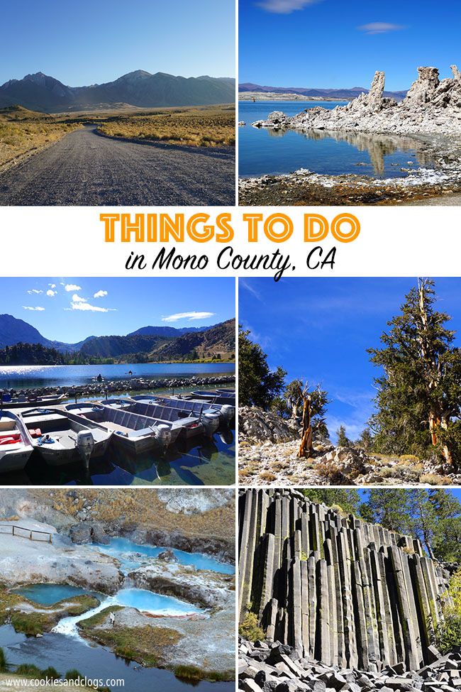 Cookies & Clogs | Travel | We finally make a family road trip to visit Mono County in California. Things to do in Mono County for families include Mono Lake, June Lake, Devil's Postpile, and more. Many areas are also dog-friendly.